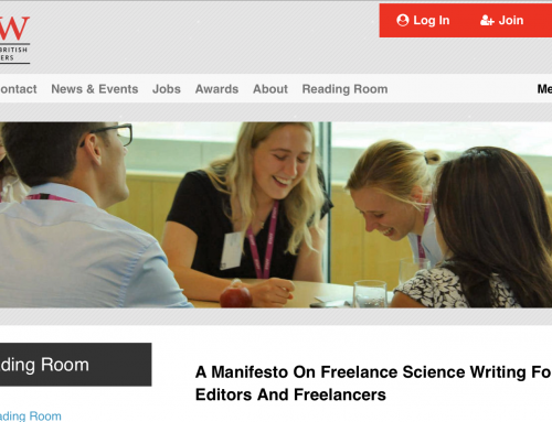 Manifesto and price guide aim to help freelance science journalists