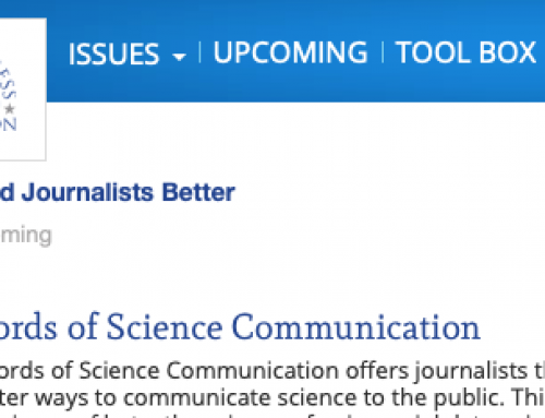 Four days of science journalism training in Paris