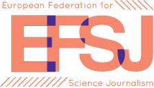 EFSJ – European Federation for Science Journalism Logo
