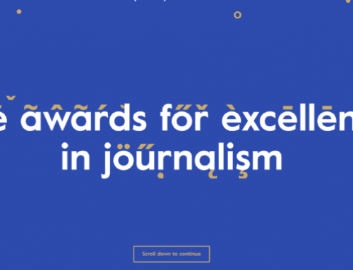 An award for European journalists