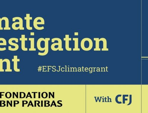 EFSJ announces Climate Investigation Grant and Next Journalism Prize winners