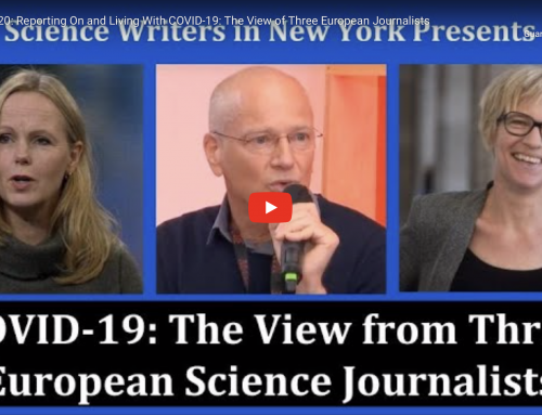 Reporting On and Living With COVID-19: The View of Three European Journalists