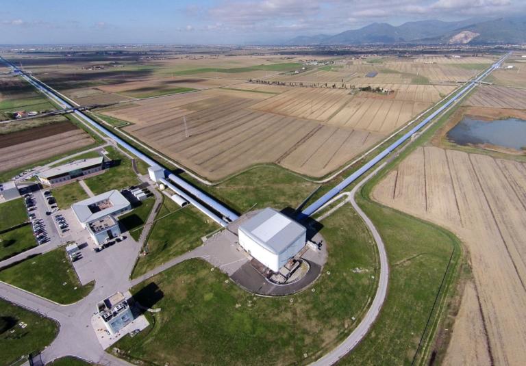Aerial view of Virgo